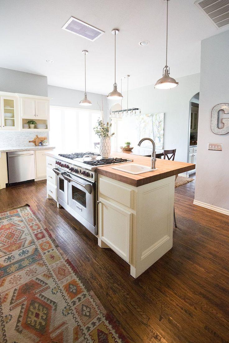 CC and Mike Home Tour - modern farmhouse kitchen