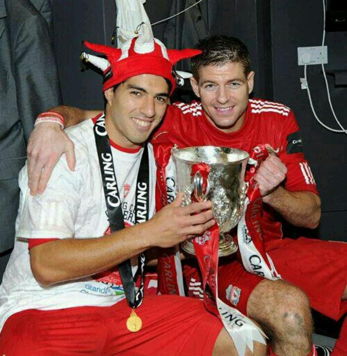 Luis Suarez And Steven Gerrard Reunited: 17 Best Images About League Cup Final 2012 On Pinterest