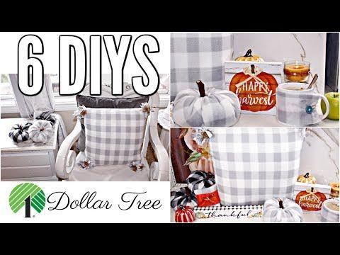 6 Diy Dollar Tree Fall Decor Crafts 2019 I Love Fall Ep