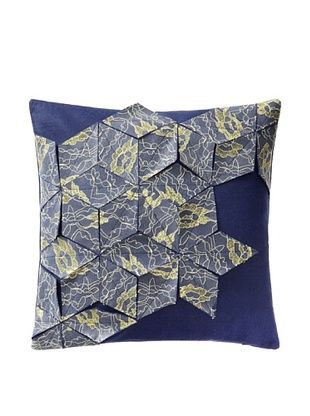 51% OFF Blissliving Home Vail Pillow (Navy)