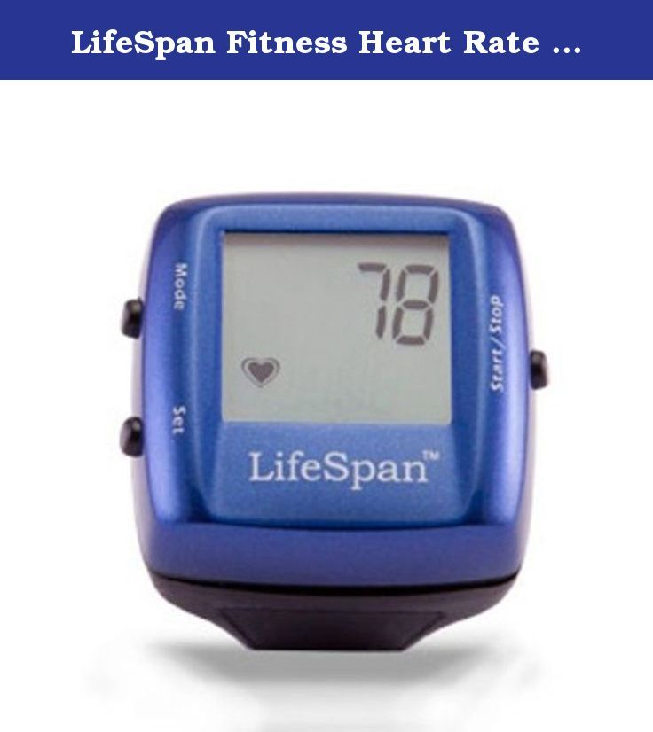 LifeSpan Fitness Heart Rate Monitor Ring (Colors may Vary). The patented LifeSpan Heart Rate Ring provides constant heart rate monitoring thru the use of patented infrared technology. Unlike other heart rate monitors the one size fits all LifeSpan Heart Rate Ring does NOT require a cumbersome and uncomfortable chest strap! Simply wear the ring and your heart rate is displayed! The LifeSpan Heart Rate Ring also comes with features such as a stopwatch, clock and Min / Max heart settings…
