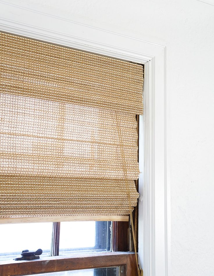 How To Cut Down Woven Window Shades Window Sizes Window And Shelves