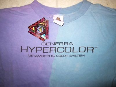 Hypercolor! I swear I still have one of these packed away some where!!!!