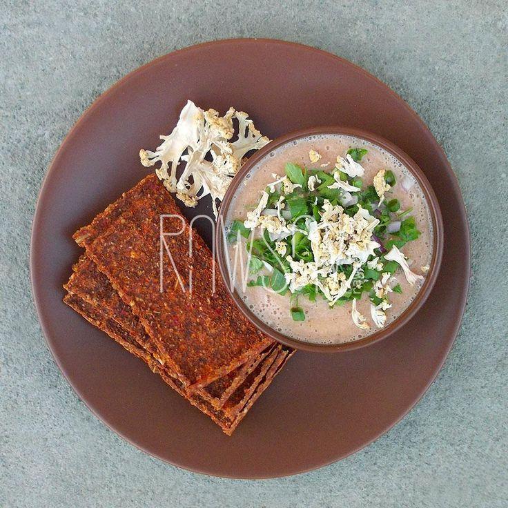 Суп из цветной капусты и тыквы - Сыроедение, рецепты и диеты - Rawsay