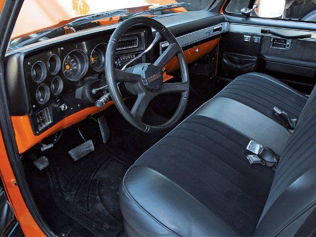 84 chevy c10 interior parts | 1985 Chevrolet C10 Interior Photo 2