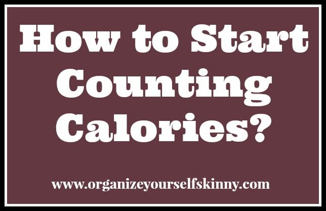 4 Steps to help you start counting calories. I know some people hate counting calories and think it is very cumbersome. However for me I found it essential to losing weight. Tracking my calories was a complete game changer for me. And to be honest I hate not fitting into my skinny jeans more than counting calories. All for steps are important but #2 is what FINALLY made the weight come off. #organizeyourselfskinny