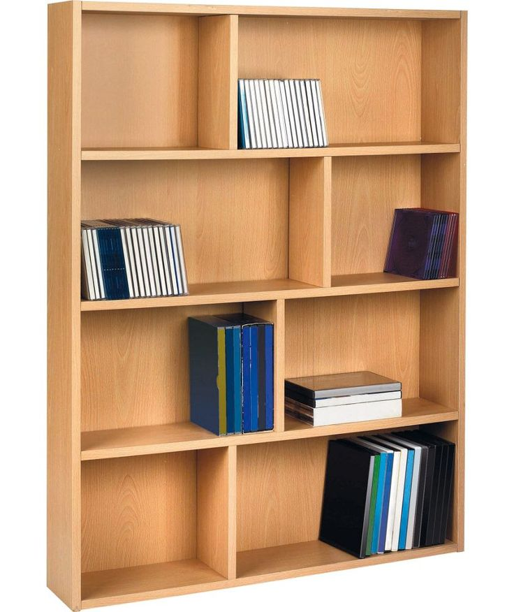 Buy HOME DVD and CD Geometric Media Storage Unit - Beech Effect at Argos.co.uk - Your Online Shop for CD, video and DVD storage.