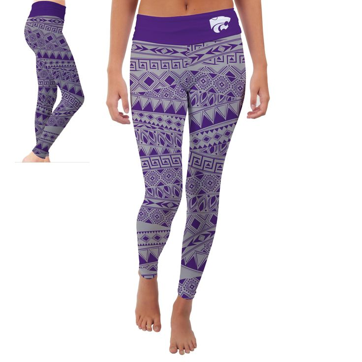 Must have product now available: KANSAS STATE UNIV... Get it here! http://www.757sc.com/products/kansas-state-university-wildcats-womens-yoga-pants-tribal-design-xl?utm_campaign=social_autopilot&utm_source=pin&utm_medium=pin