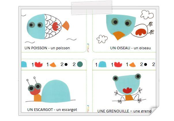 """""""Merci le vent"""" - 5 modèles de puzzles de formes http://www.iticus.fr/?p=524"""