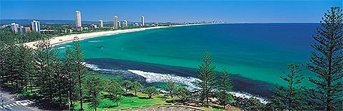 The beautiful Burleigh Heads where I sell on the last Sunday of the month at the local art and craft market