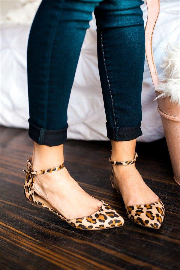 Ankle Strap Flats | 5 Colors!