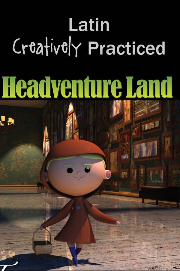 Headventure Land from Classical Academic Press - learn Latin and practice your language skills with lots of fun games and activities.  learning languages | foreign languages for kids