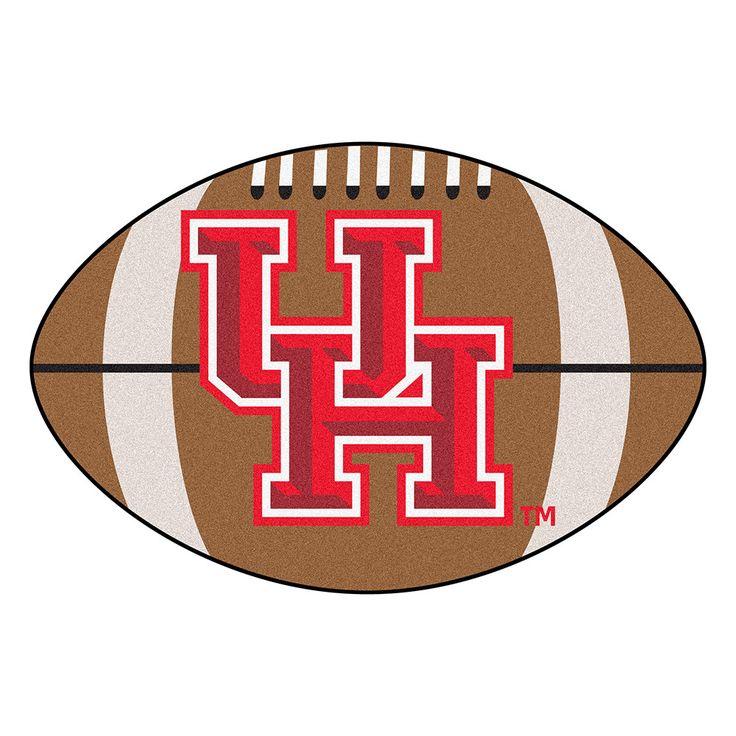 Houston Cougars NCAA Football Floor Mat (22x35)