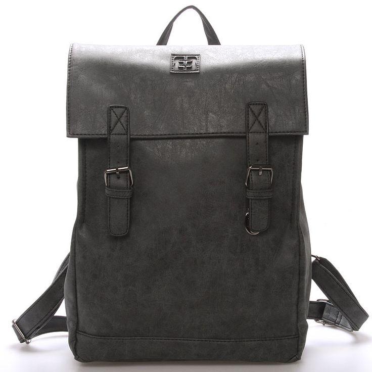 #EnricoBenetti Módní stylový batoh černý - Enrico Benetti Travers