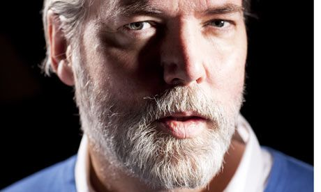 Douglas Coupland . . .'In my mind, I've checked out in 2037.' Photograph: David Levene