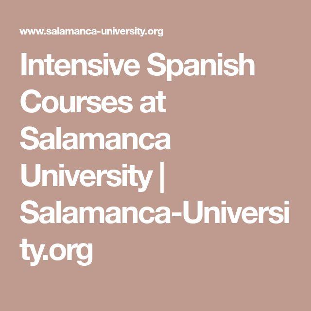 Intensive Spanish Courses at Salamanca University | Salamanca-University.org