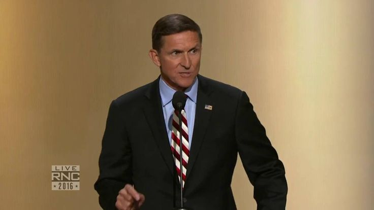 "Lt. Gen. Michael Flynn | 2016 Republican National Convention: 20:20 ""If I did a tenth of what she did, I would be in jail today"""