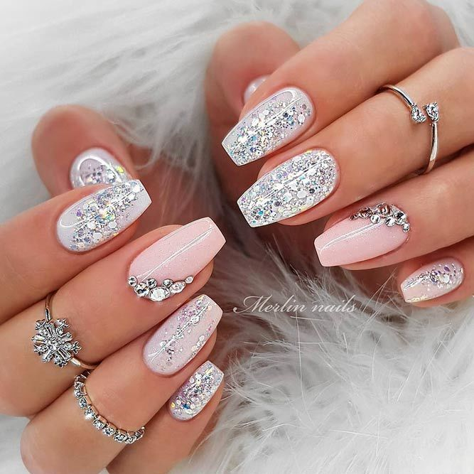 24++ Nail art with stones ideas info