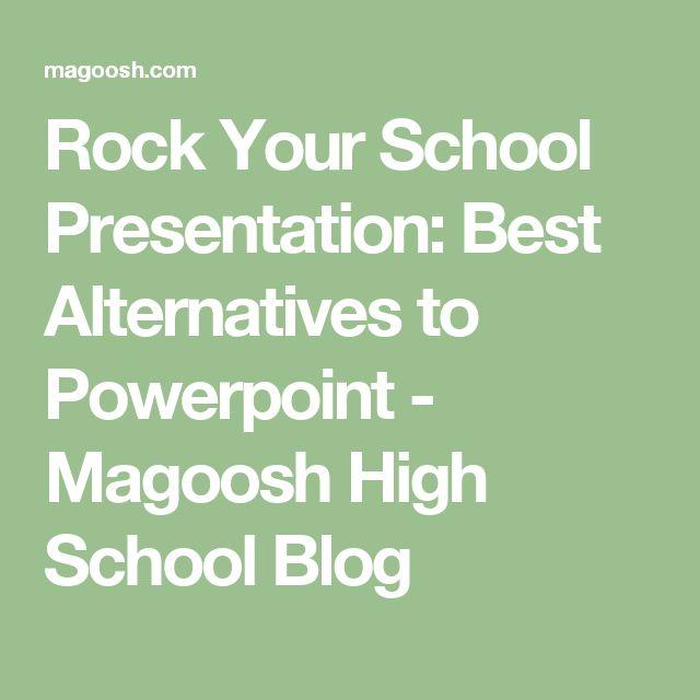 Rock Your School Presentation: Best Alternatives to Powerpoint - Magoosh High School Blog