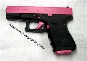 I wonder if the PD would let me replace my Glock with this one. HAHA.. Its So girly and pretty