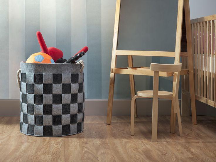 Mocka Felt Baskets are great for storing kids toys!