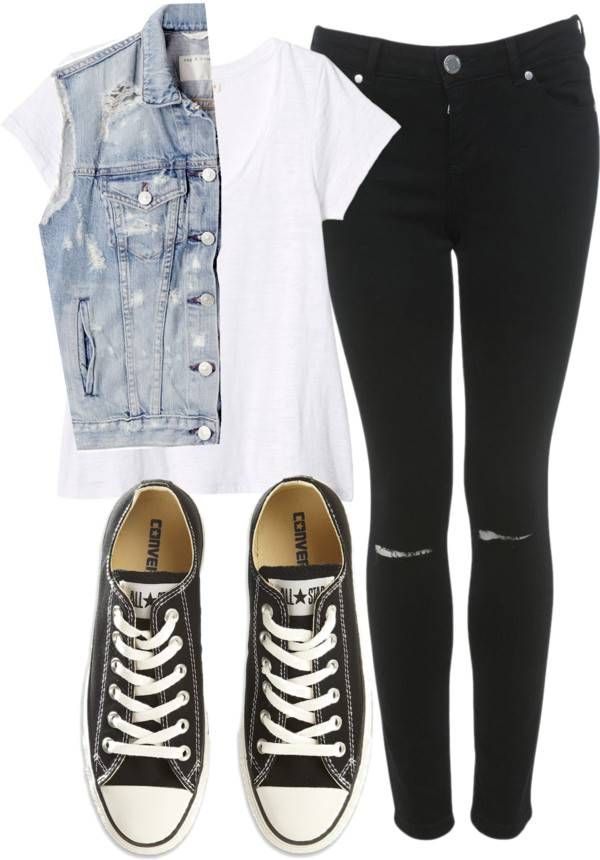 Love it! This is like a version of Niall's outfit for a girl