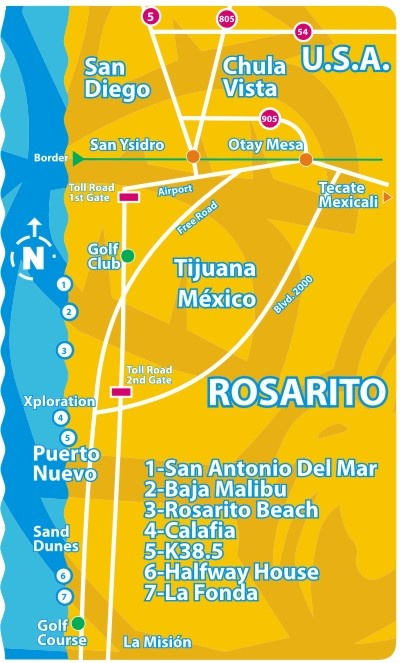 Rosarito Beach. We made it through Tijuana!  Actually easy and fun!! Coming back for sure