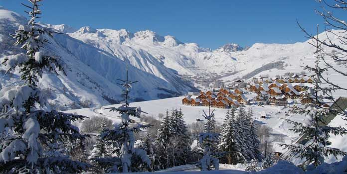 Skigebied Saint Jean d'Arves: makkelijk skigebied in rustig chalet-dorp