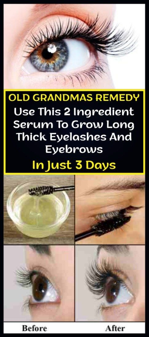 d2a89c114e4 Use This 2 Ingredient Serum To Grow Long Thick Eyelashes And Eyebrows In  Just 3 Days