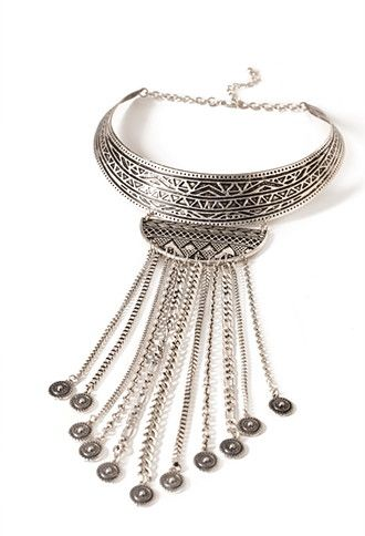 Tribal-Inspired Statement Necklace | Forever 21 - 1000134227