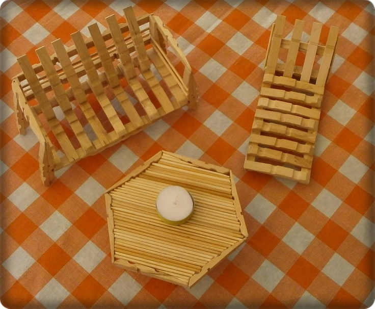1000 images about clothes peg dolls house furniture on for Small wooden rocking chair for crafts