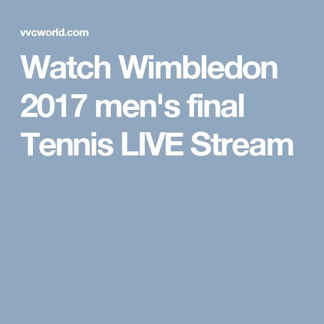 Watch Wimbledon 2017 men's final Tennis LIVE Stream. Roger Federer vs Marin Cilic, Wimbledon 2017 final Live Online Enjoy tennis match.