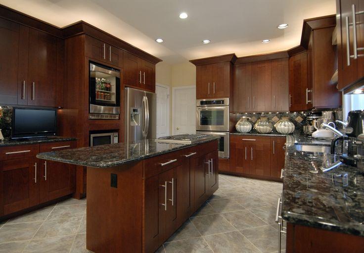 Blue Kitchen Cabinets Images