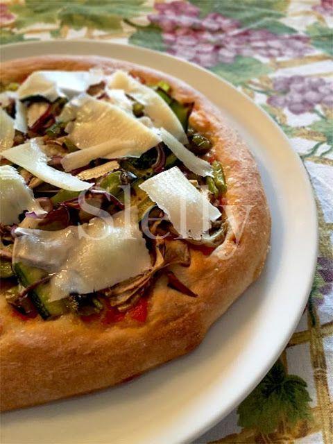 SLELLY: DOMENICA PIZZA - Pizza soffice con pomodoro concas...
