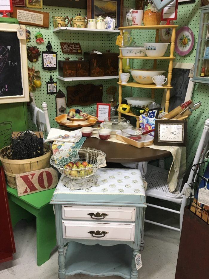 The Turned Leg, Plaza Antiques & Collectibles Mall, Booth 134