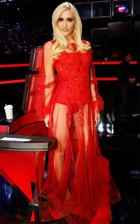 Gwen Stefani's Style on Season 9 of The Voice | InStyle.com
