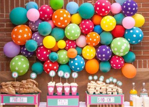 Decora cualquier espacio con globos