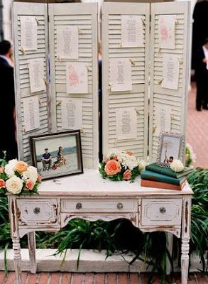 decorate shutters for wedding display - Google Search