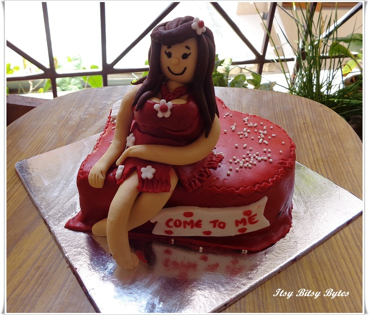 Birthday Cake Pictures Naughty : 72 best Naughty By Nature Cakes images on Pinterest ...