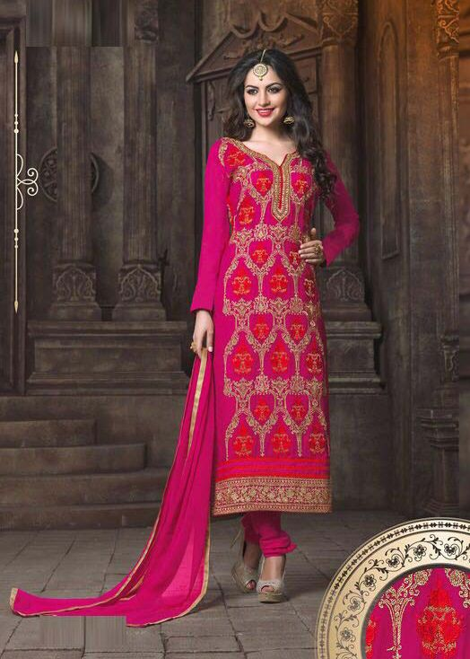 Semi Stitched Pink Georgette Straight Cut Suit #pink #achkanstyle #anarkalisalwarsuit #shalwarkameez #shalwar #partywear #salwarsuits #designer #anarkali #ceremonial #georgette #net #officewear #salwarkameez #suit #suitsonline #traditional #straightcut #fullsleeve #contemporary #womenwear #womenclothing #nikvik #usa #designer #australia #canada #malaysia #UAE #freeshipping.Sign up and get USD100 worth vouchers.price-US$76.30