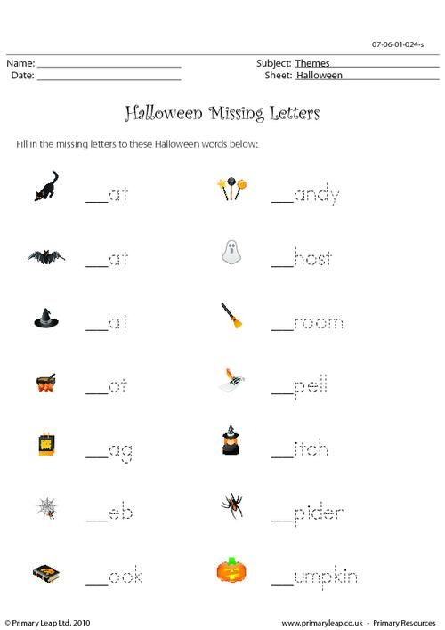 17 best images about halloween printable worksheets primaryleap on pinterest haunted houses. Black Bedroom Furniture Sets. Home Design Ideas