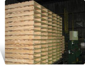 Used Wood Pallets For Sale !  #Wood_Pallet is a flat transport structure that supports goods in a stable fashion while being lifted by a forklift, pallet jack, front loader or other jacking device.