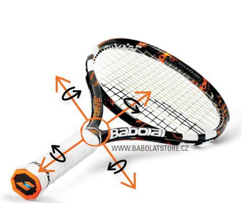 First electronic tennis racket Babolat AeroPro Drive PLAY http://www.babolatstore.cz/BabolatPlay