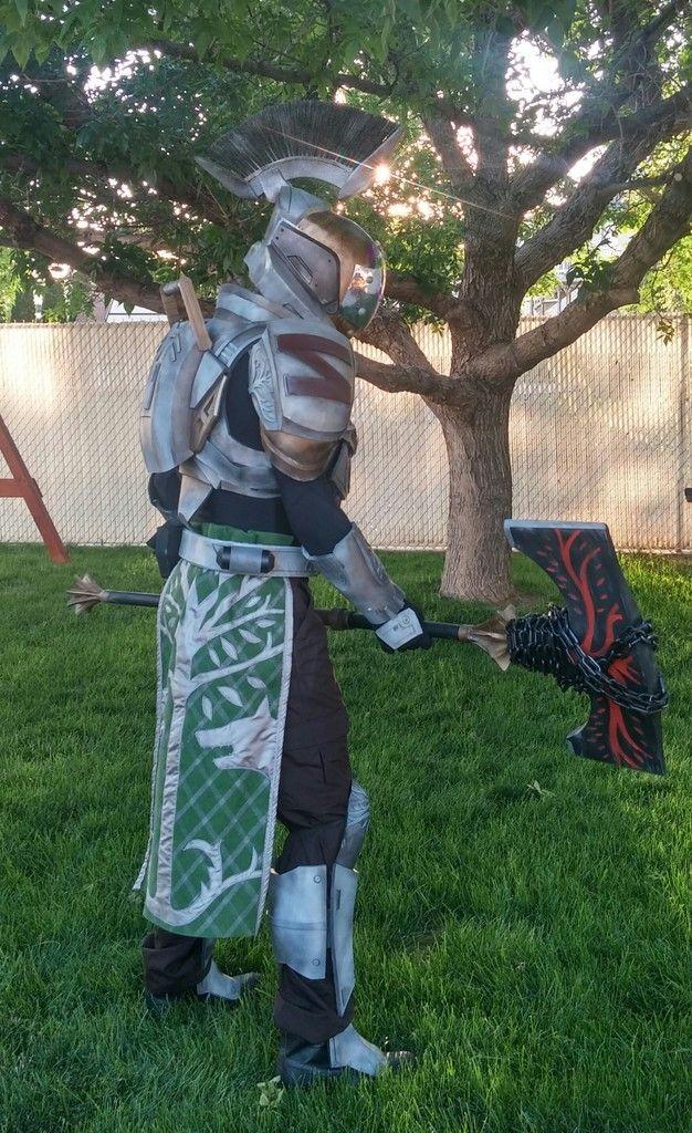 Iron Banner Titan and Battle Axe