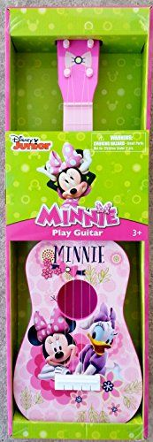 Disney Minnie Mouse Play Guitar Pink *** You can get more details by clicking on the image.