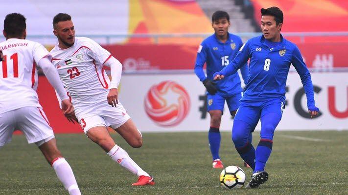 ไฮไลท์ฟุตบอล ทีมชาติไทย 1-5 ปาเลสไตน์ [ฟุตบอลชิงแชมป์เอเชีย U23]
