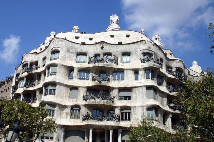 """Casa Milà"", Barcellona. ."