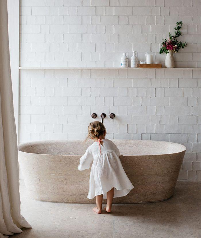 Bathroom renovation inspo - handmade tiles