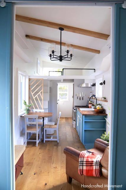 The Inside Of Cadence Tiny House