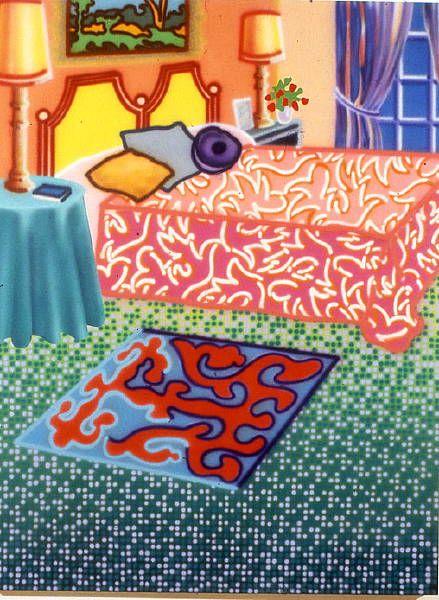 Rococo Rhythm by Howard Arkley, 1992